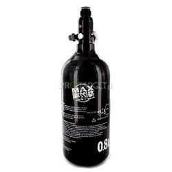 Butla HP Max Pressure 48cu/0,8L 3000 psi czarna