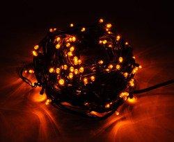 Lampki choinkowe LED 200 żółte ZK Ł