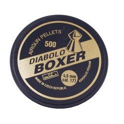Śrut Diabolo Boxer plastik 4,5 mm 500 szt.