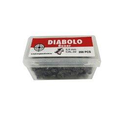 Śrut szpiczasty Diabolo BOXER Plastic Case 5.5 mm