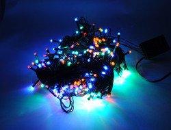 Lampki choinkowe LED 300 multi ZK