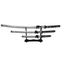 Zestaw 3 mieczy samurajskich Katana