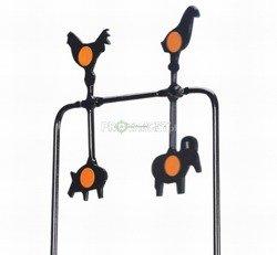 Spinner Gamo 4 cele Plinking zwierzątka
