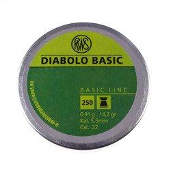 Śrut RWS Diabolo Basic 5,5mm