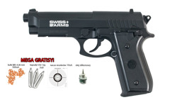Zestaw pistolet Cybergun Swiss Arms PT92 4,46 mm